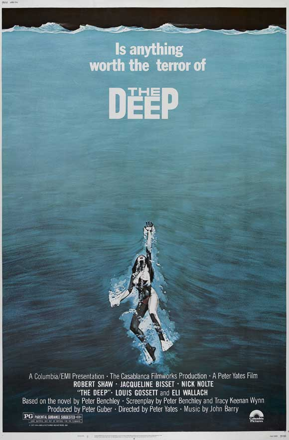 Chapter 1 - Take 1: Nick Nolte and Jacqueline Bisset in The Deep ...