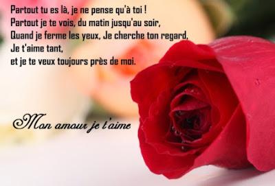 Message d'amour romantique pour lui dire je t'aime