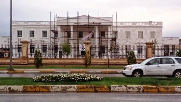FOTO – La Casa Blanca en Irak