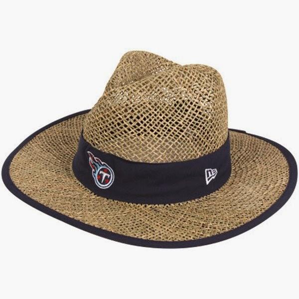 Tennessee Titans NFL Straw Hat
