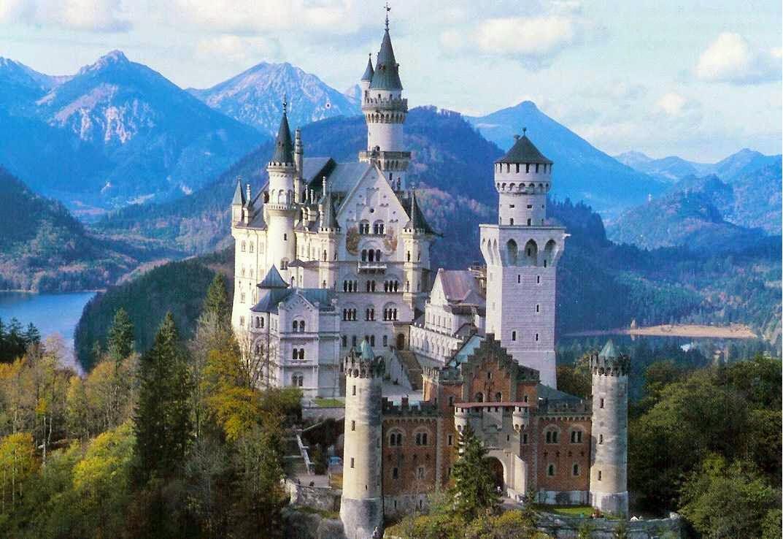Castillo Neuschwanstein en Alemania