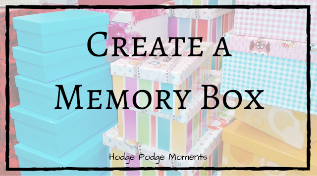 Create a Yearly Memory Box