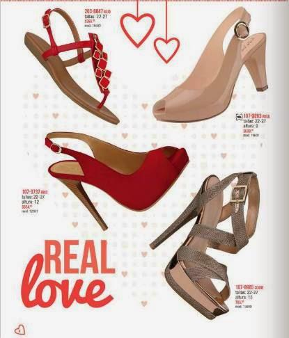 Zapatos de San Valentin 2015 Andrea