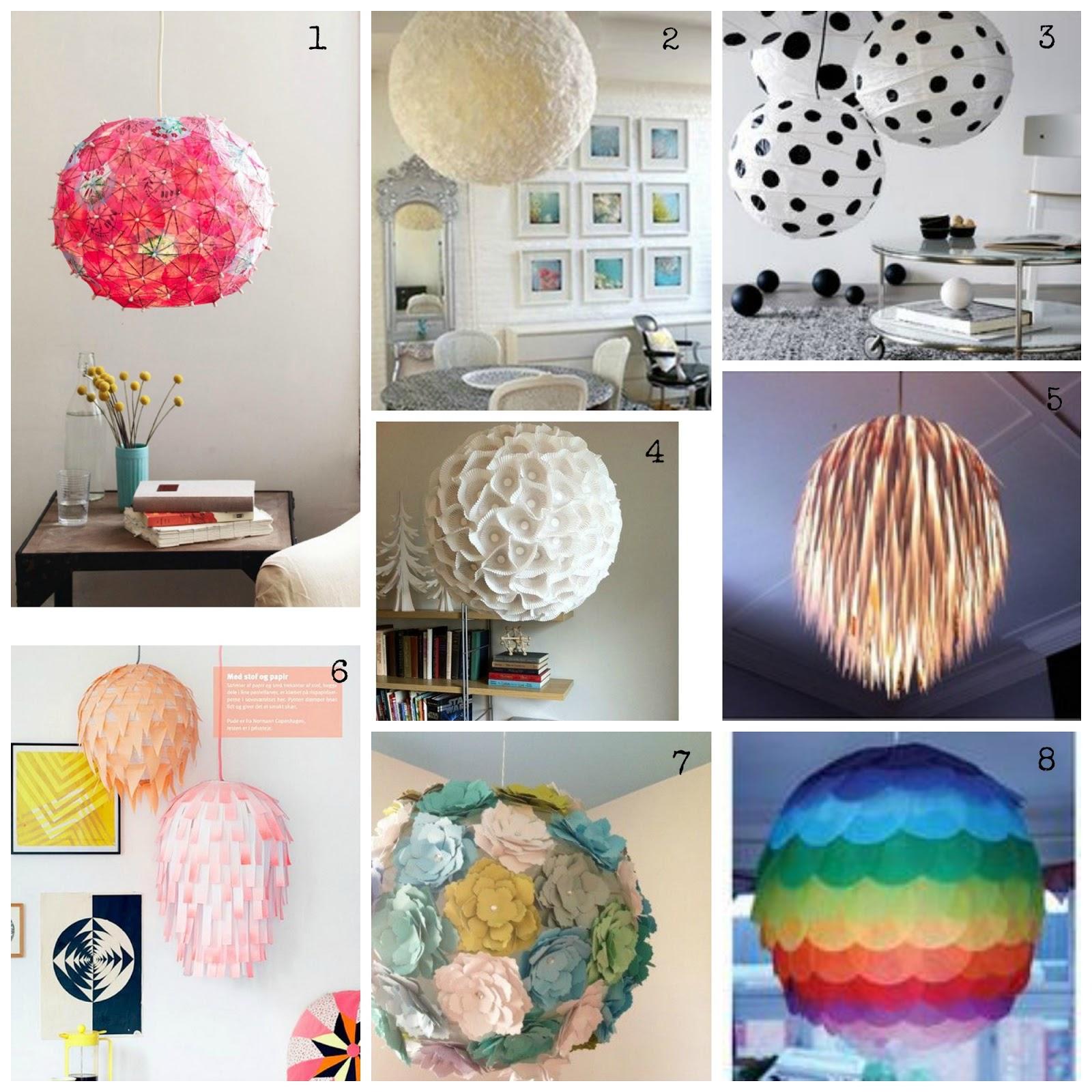 Get Your Inspiration  DIY Lampade di carta   DIY Rice Lamps   Cappello A Bombetta -> Lampadario Ikea Carta Di Riso