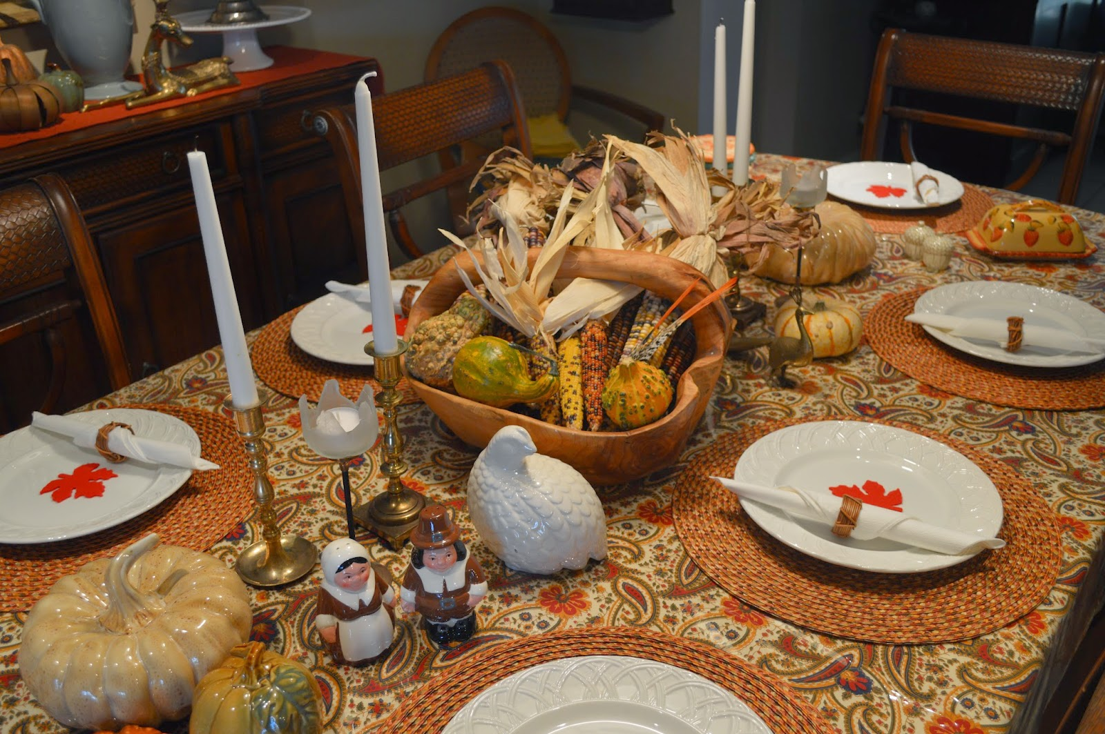 Inspire Bohemia Thanksgiving Tablescape And Family Recipes