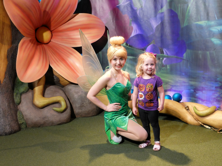 Walt Disney World, Magic Kingdom, Tinker Bell Meet and Greet