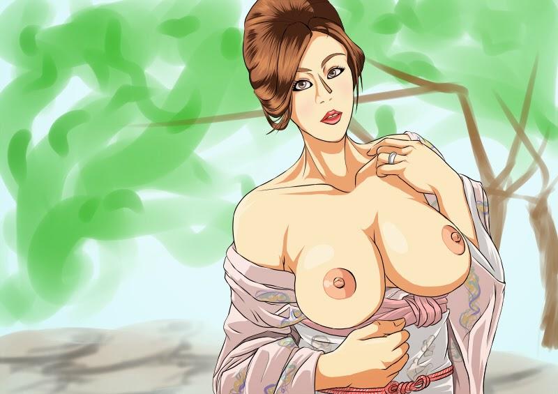 JULIA in 温泉女将の誘惑