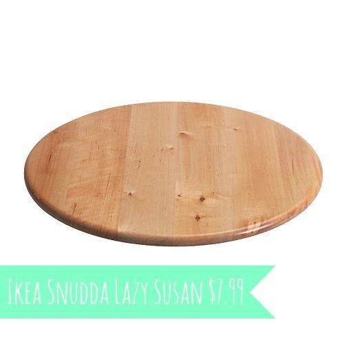 {UNDONE} Ikea Lazy Susan