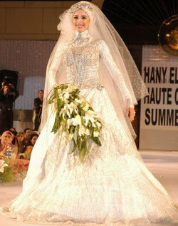 Muslim Wedding Gown