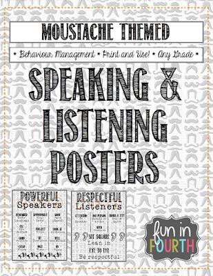 https://www.teacherspayteachers.com/Product/Moustache-Themed-Speaking-and-Listening-Posters-1090903