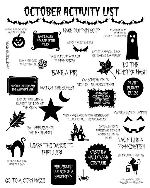 Download October Activity List