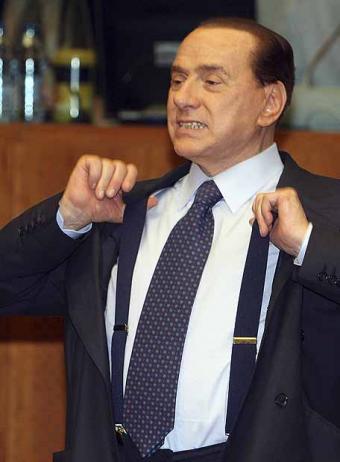 silvio berlusconi bunga bunga. unmarried, Silvio