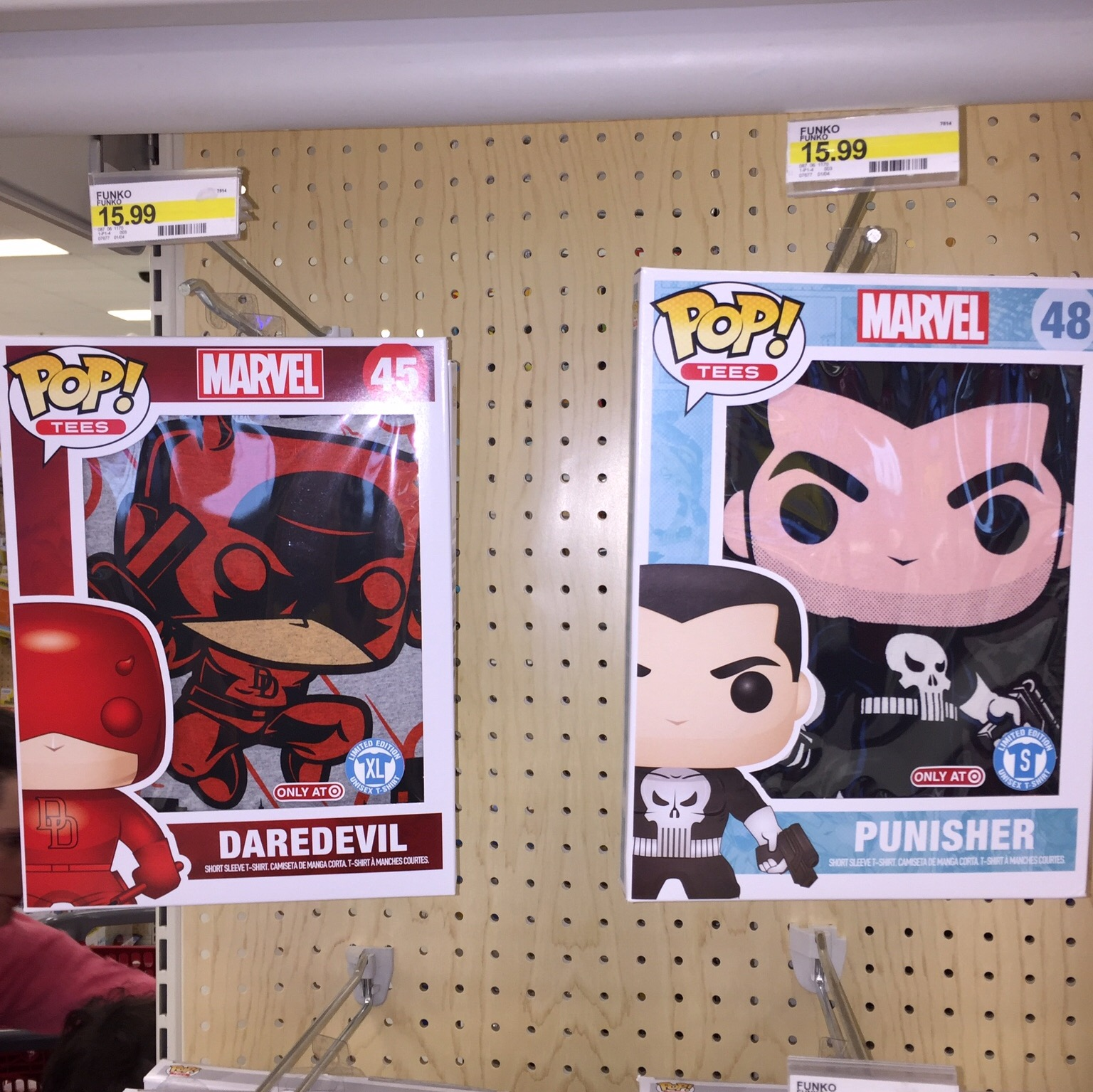 The Blot Says Target Exclusive Daredevil The Punisher Pop