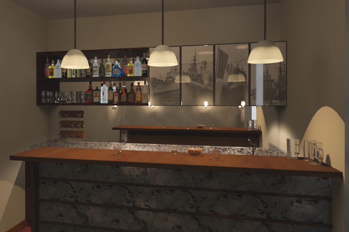 Oniria dise o de barras y bares for Disenos para bares