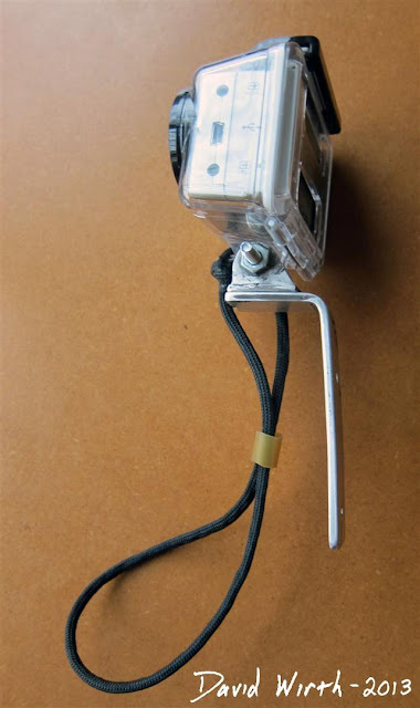 gopro camera handle, homemade handle for camera, wrist strap