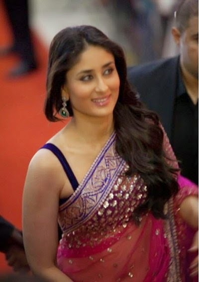 kareena kapoor hot cleavage navel hd images in transparent saree pics