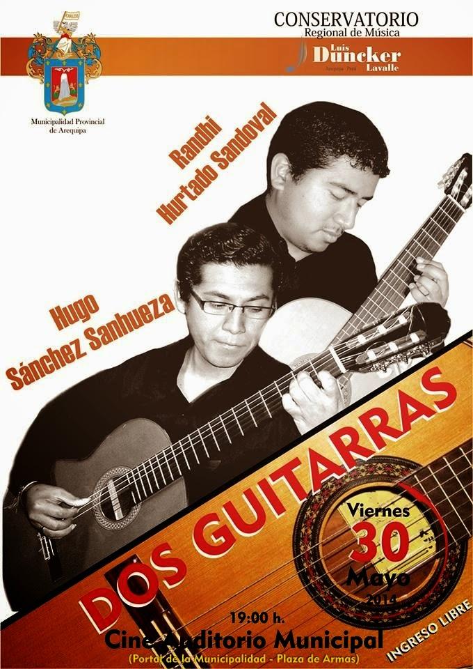 Recital dos guitarras en Arequipa - 30 de mayo