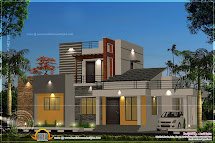 Small Square Flat Roof House
