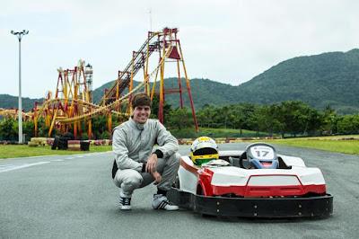 Luiz Razia, vice-campeão da GP2 e com passagem pela F1, é o grande idealizador