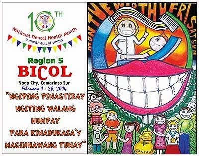 National Dental Health Month in Camarines Sur