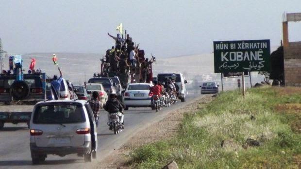 horrific views of Kobane
