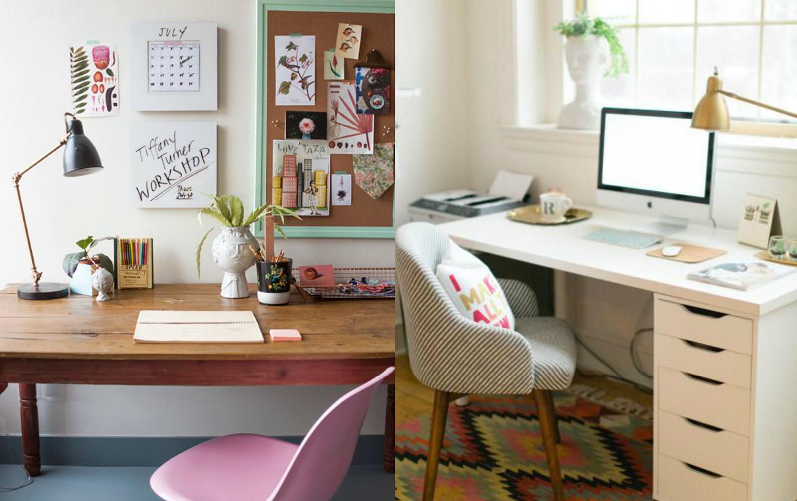 You make me jolly deco ideas para crear tu escritorio for Ideas para escritorios