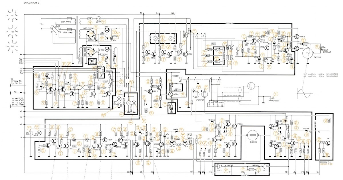 Beolover  Beogram 4000  Alternate  U0026quot Circuit Diagram 2 U0026quot  With