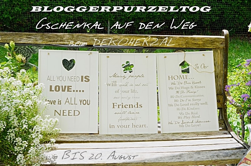 Giveaway bei Dekoherzal in den Bergen