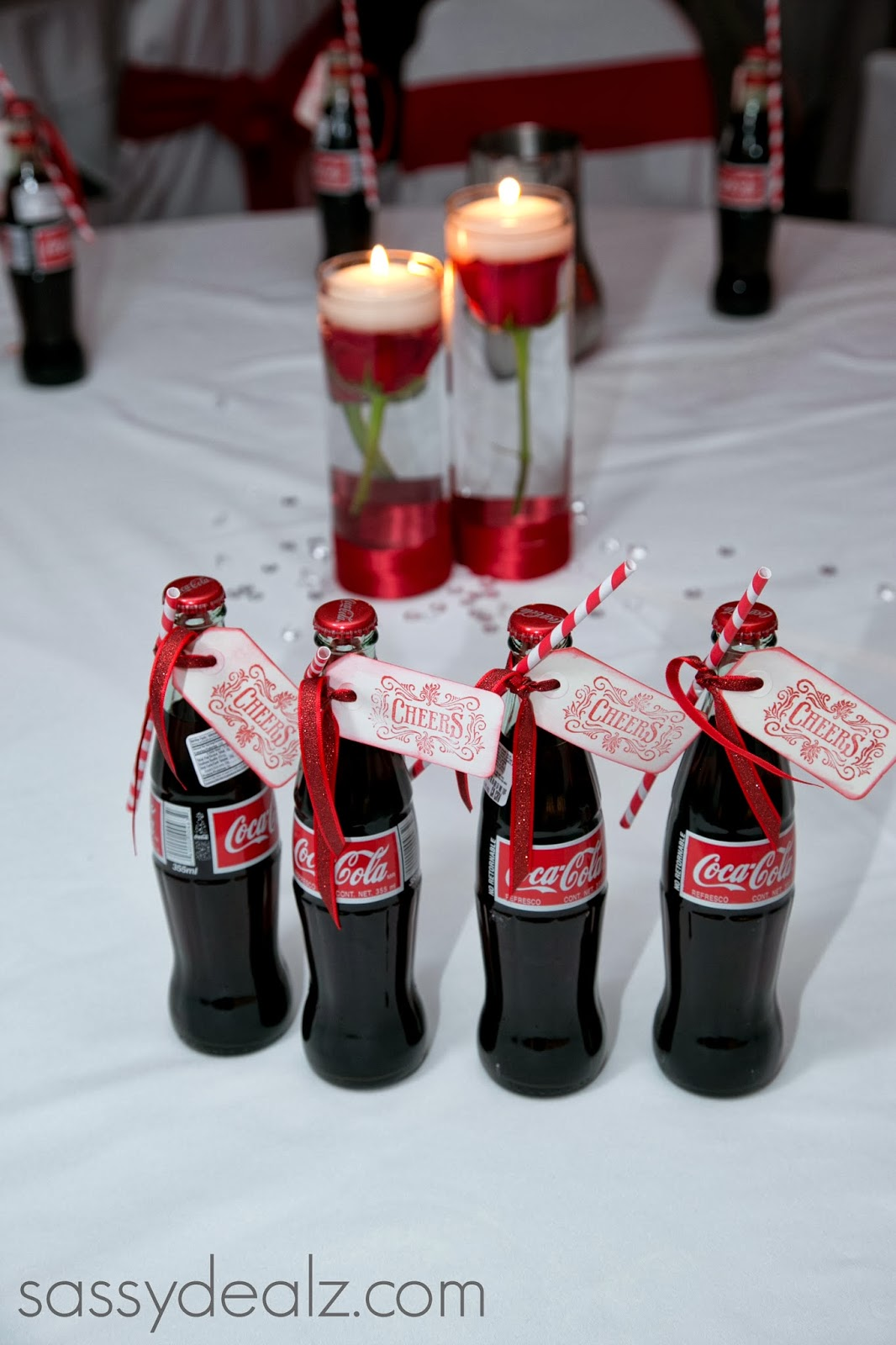 Diy coca cola bottle wedding favor idea crafty morning for Wedding favor supplies