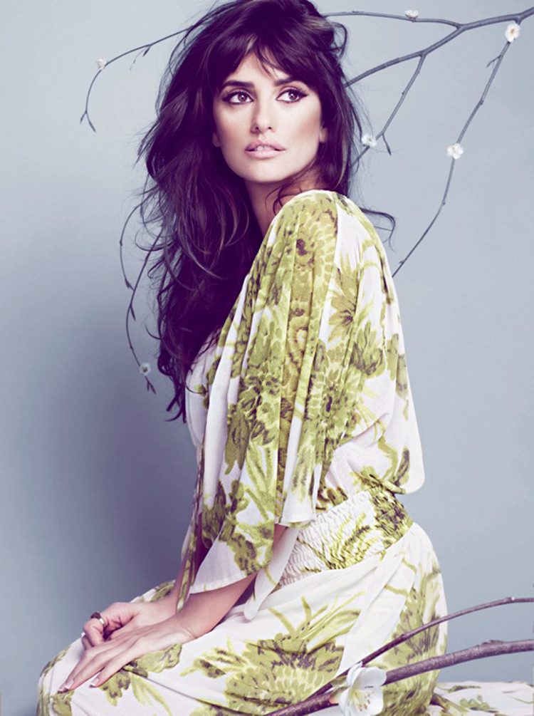 Fashionable Celebrity Hairstyle Penelope Cruz 22