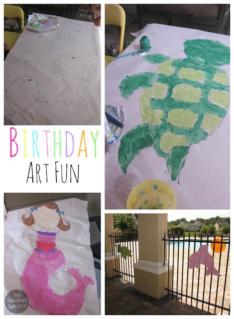 DIY Ocean Themed Birthday Party Decorations