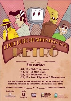 4º Cineclube Quadrinhos S.A. (2011)