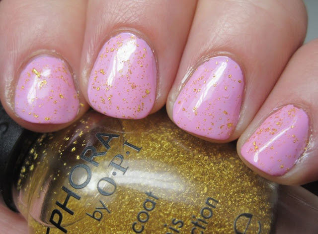 Butter London Fruit Machine with SOPI 18k gold topcoat