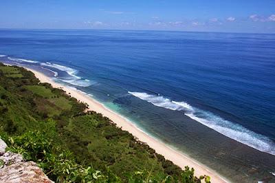 Nyang Nyang Beach, secret beach, romantic beach, holiday in bali, adventure in bali