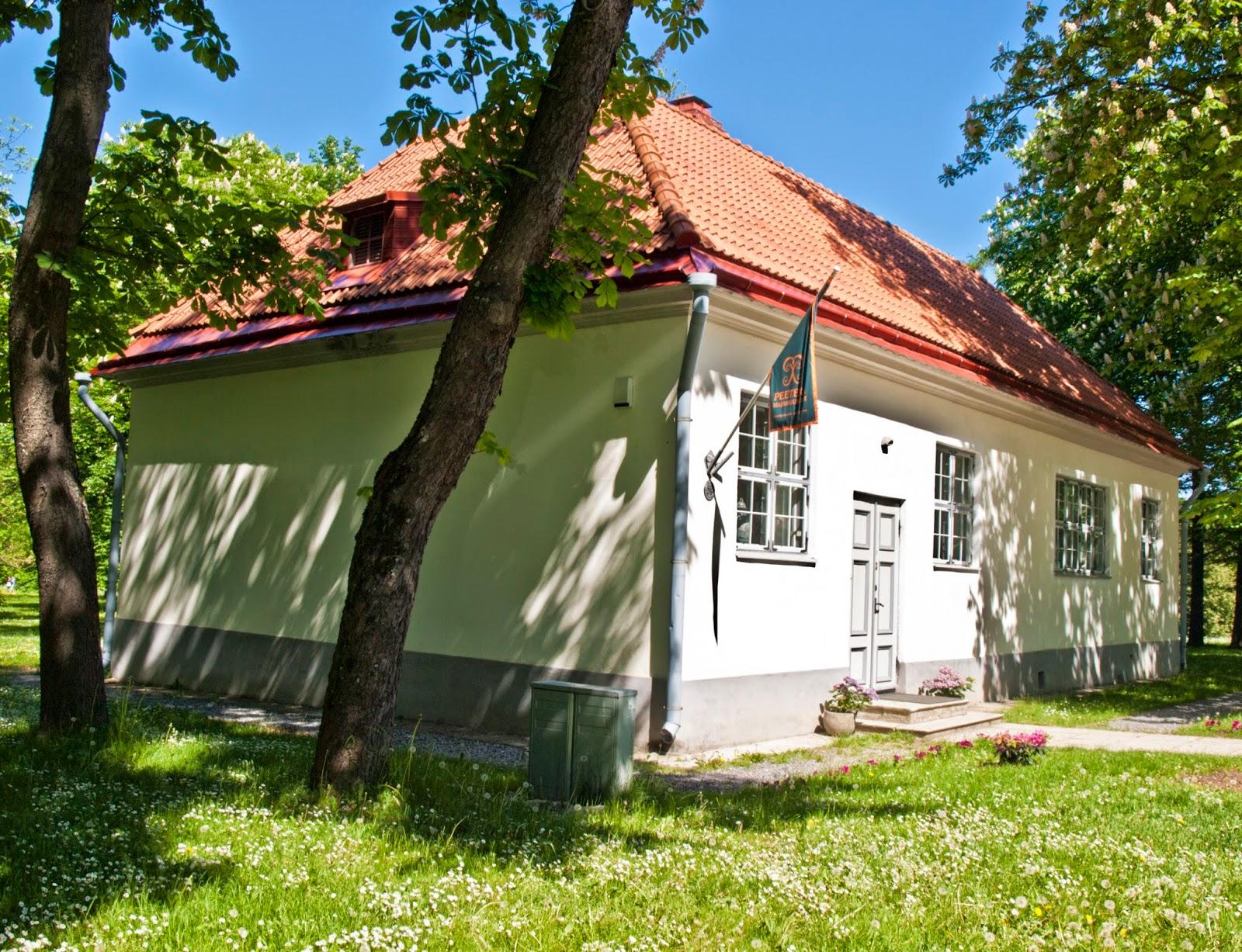 Домик Петра в парке Кадриорг