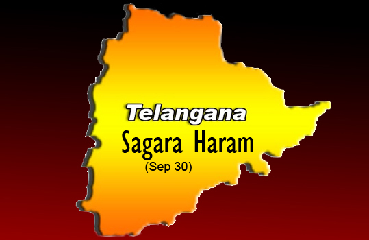 telangana issue There are 10 districts in telangana,  state division is an emotional issue ,i know at emotional times each one can take a wrong step and speak a wrong words.