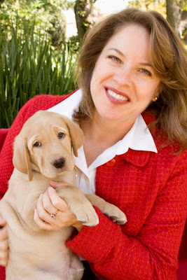 Susan with puppy