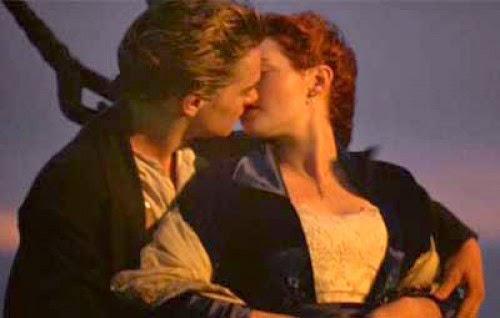 Imagenes y frases amorosas de besos del cine