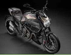 Ducati Diavel, la moto de titanio 2014