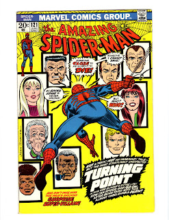 The Amazing Spider-Man #121 - 365 Days of Comics