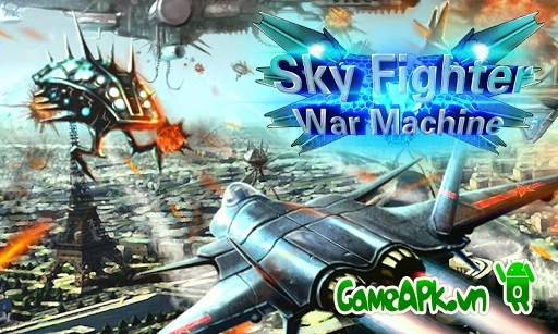 Sky Fighter War Machine v1.0 hack full tiền cho Android