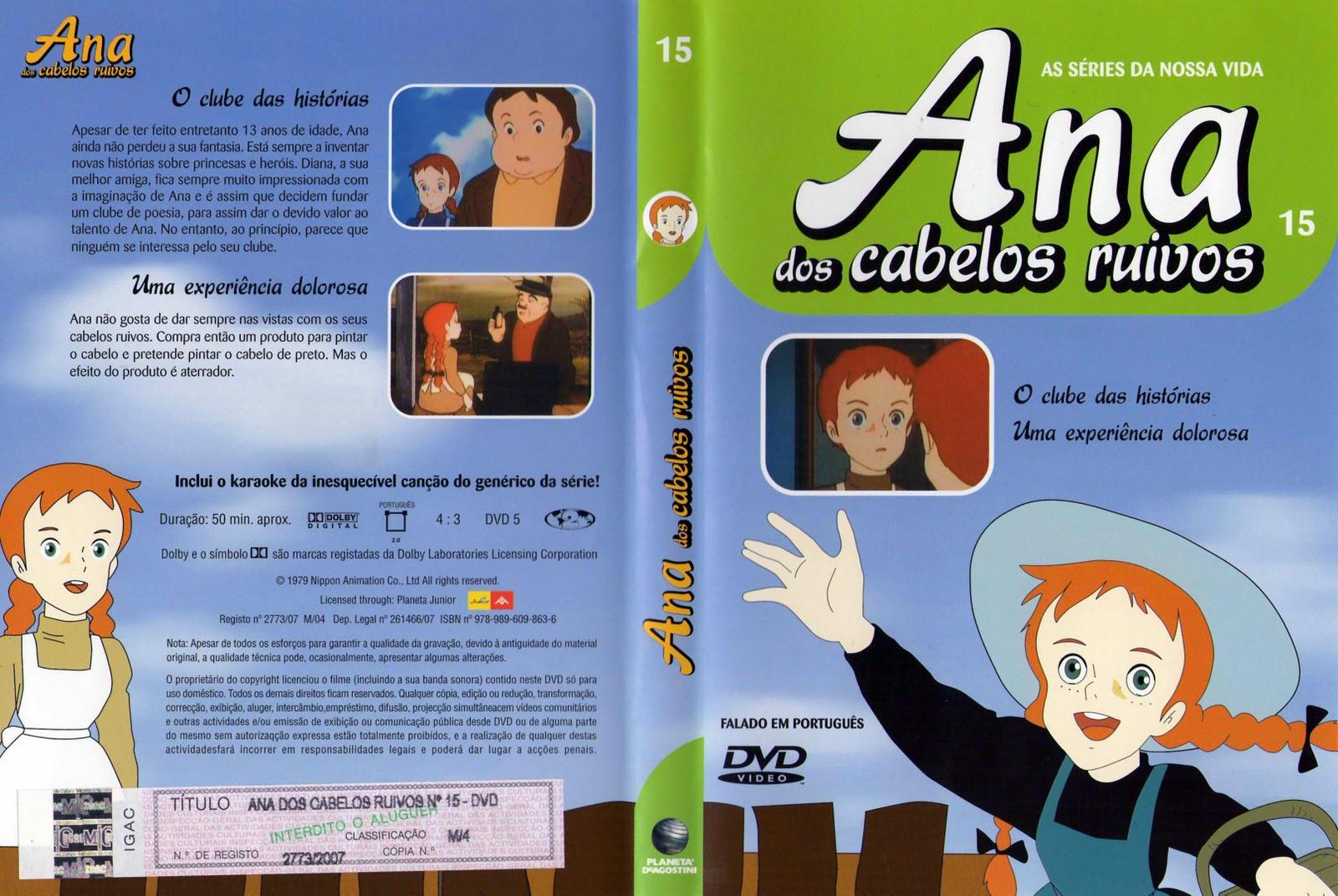 Ana dos Cabelos Ruivos Vol.1 A 25  PT-PT Ana+dos+Cabelos+Ruivos+Vol.15-capa