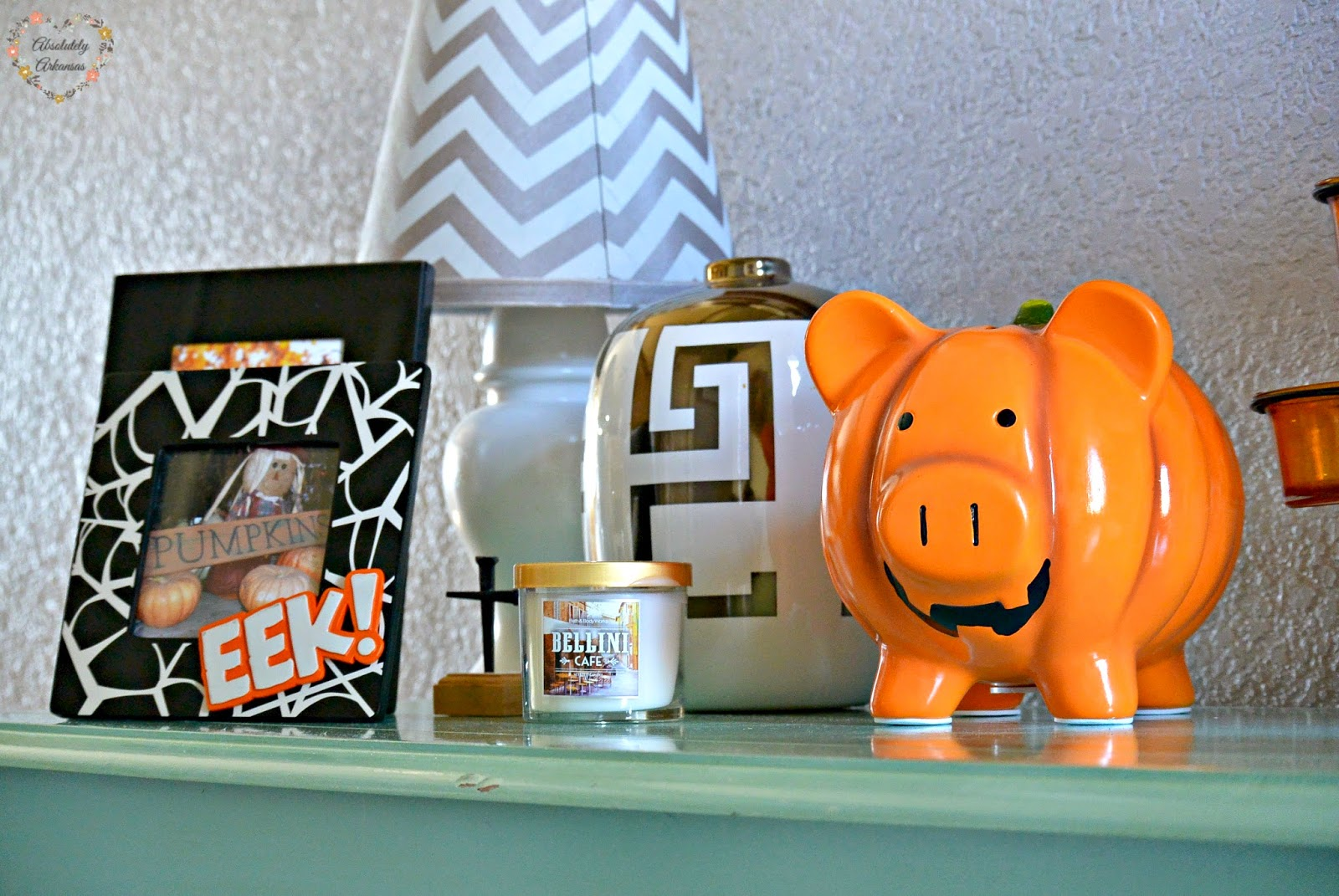 pumpkin piggy bank