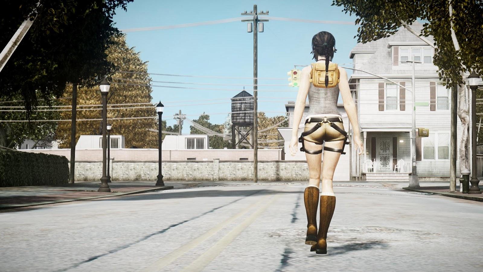 Gta 4 lara croft nude mod ps hentai photos