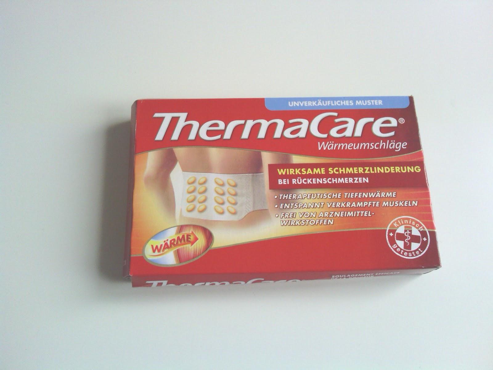 b rbel 39 s produkt testerei mein thermacare w rmepflaster. Black Bedroom Furniture Sets. Home Design Ideas