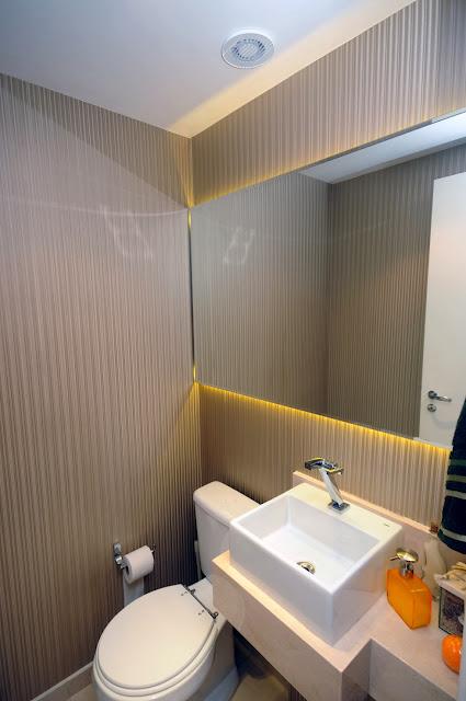 blog de decoração  Arquitrecos Iluminação indireta com fita de LED Aplicáv -> Armario De Banheiro Com Led