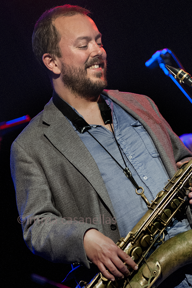 Bill McHenry amb Jeff Ballard 'Fairgrounds', Nova Jazz Cava, Terrassa 7-3-2015