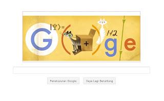 google doodle - 126th Erwin Schrodinger
