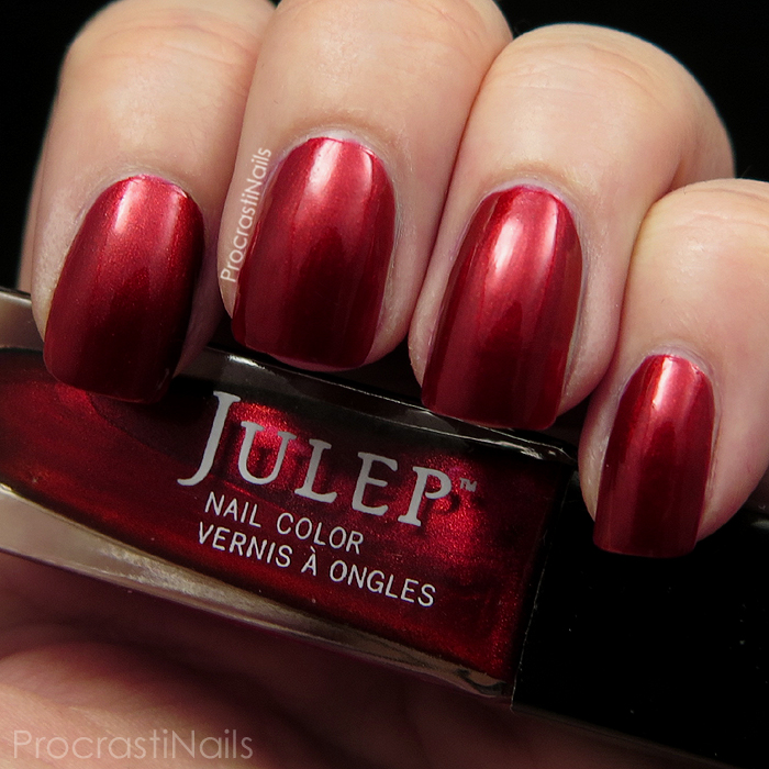 Swatch of Julep Kenya for the 30 Days of Colour Nail Polish Challenge