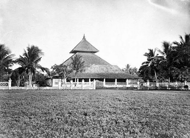 Masjid Agung Demak, akhir abad ke-19